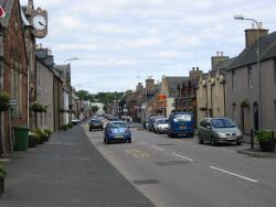 Golspie Main Street